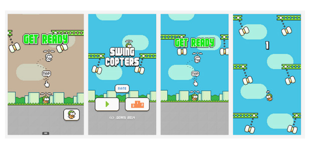 Swing-Copter-Screenshots